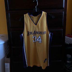 LA Lakers #34 jersey